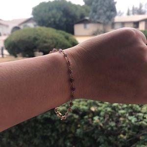 Jewelry - Pink Tourmaline stone bracelet